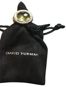 David Yurman David Yurman Diamond & Citrine Ring