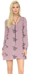 Free People short dress Elderberry Combo on Tradesy