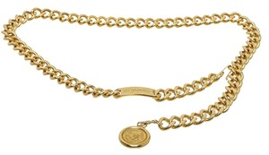 Chanel Chanel Gold Chain Medallion Belt