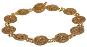 Chanel Chanel Gold Medallion Belt