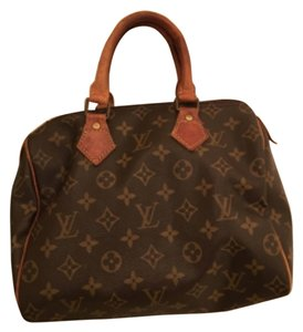 Louis Vuitton Speedy 25 Satchel in Monogram