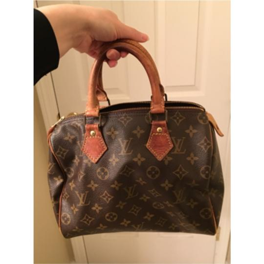 Louis Vuitton Speedy 25 Canvas Satchel in Monogram