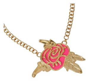 Betsey Johnson Betsey Johnson Photoetch Layered Cut Out Rose Gold Tone Necklace NWT $50