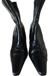 Other Zipper Heel Black Boots