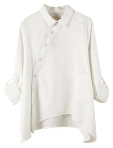 Private Boutique Button Down Shirt White
