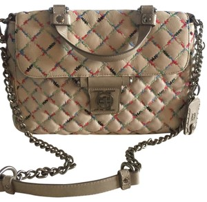 Olivia Harris Quilted Smooth Leather Shoulder Bag