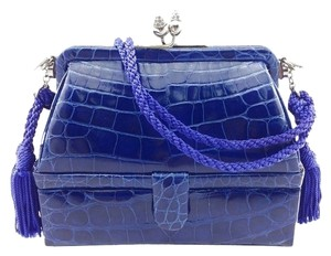 Judith Leiber Crocodile Leather Shoulder Bag