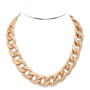 Gold Chunky Link Necklace