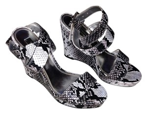 White House | Black Market Zebra Wedges