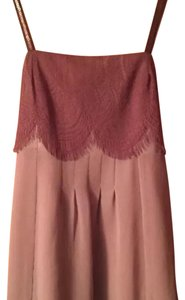 Hazel Top Beige and Mauve