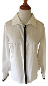 Anne Fontaine Button Down Shirt White