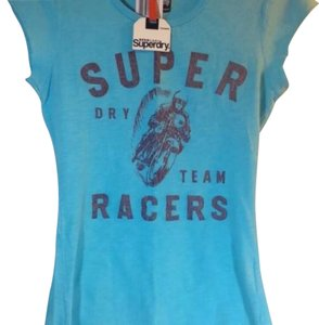 Super Dry T Shirt Blue