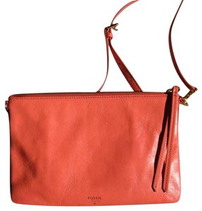 Fossil New Leather Cross Body Bag