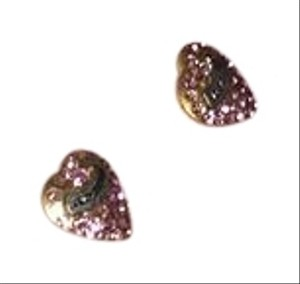 Juicy Couture Pave Heart Studs