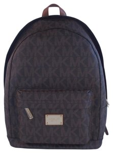 Michael Kors Large Pvc Signature School Backpack