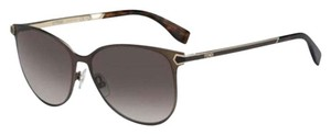 Fendi Fendi Semi Matte Brown Sunglasses 0022/s