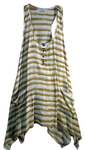 Cecico Full Buttons Tank Tunic