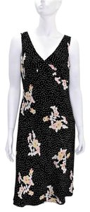 Banana Republic Polka Dot Floral Dress