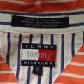 Tommy Hilfiger Womens Sleeve Striped Shirt Button-down Top Size 4 (S) Tommy Hilfiger Womens Sleeve Striped Shirt Button-down Top Size 4 (S) Image 7