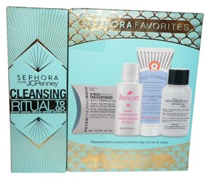 Sephora SEPHORA FAVORITES CLEANSING RITUAL TO GO ROTH/BOSCIA/FIRST AID BEAUTY/PHILOSOPHY