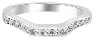 Avi and Co 1.00 cttw Round Brilliant Cut Diamond Form Fitting Wedding Band Platinum
