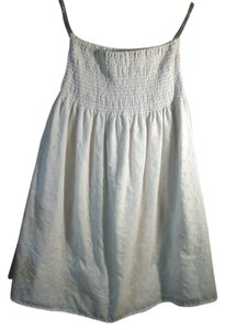 Derek Heart short dress white Eyelet Tube Top on Tradesy