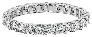 Avi and Co 1.20 cttw Round Brilliant Cut Diamond U-Shape Prong Eternity Band 14K White Gold