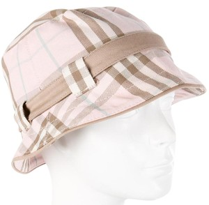 Burberry Burberry pink multicolor Nova Check plaid bucket hat