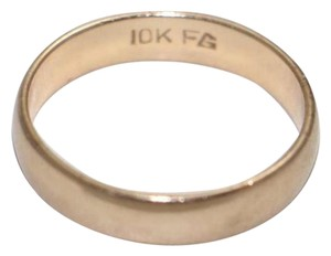 10K YELLOW GOLD WEDDING BAND, SIZE 5.75
