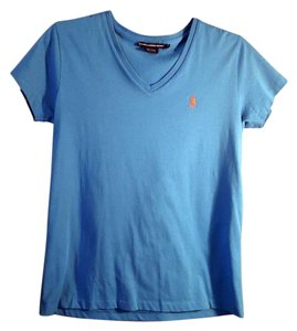 Ralph Lauren V-neck T Shirt blue