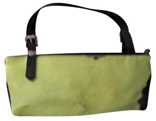 Preload https://item2.tradesy.com/images/adrienne-vittadini-bright-mini-satchel-green-and-black-smooth-fur-body-satchel-153156-0-1.jpg?width=440&height=440