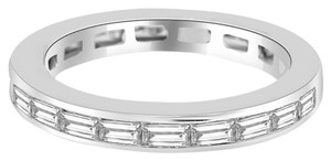Avi and Co 1.65 cttw Baguette Cut Diamond Channel Set Eternity Band 14K White Gold