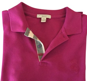 Burberry Brit T Shirt Dark pink