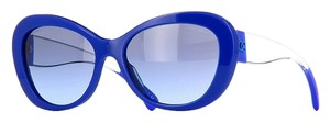 Chanel CHANEL 'Crystal Dream' Collection Butterfly Sunglasses CH5264 (Blue)