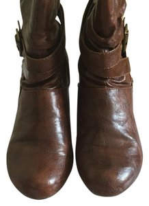 ALDO Straps Decor Stylish Brown Boots