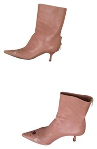 Jimmy Choo blush pink Boots