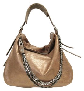 Jimmy Choo Metallic Hobo Bag
