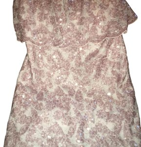 BCBGMAXAZRIA short dress Mauve Lilac on Tradesy