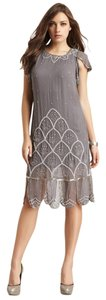 Candela NYC Flapper Drop Waist Beaded Great Gatsby Dress