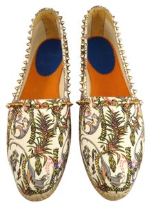 Christian Louboutin Espadrille Jungle Monkey Print Athletic