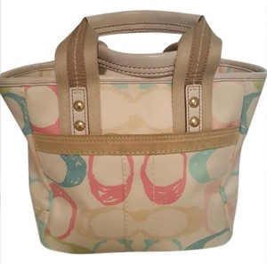 Coach Satchel in MULTI/WHT