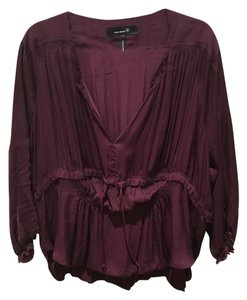 Isabel Marant Top Burgandy