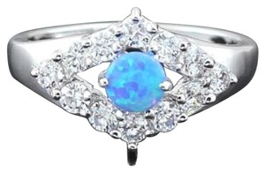 Opal & Topaz Ring Free Shipping