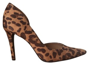 Mossimo Supply Co. Leopard Stiletto Pointed Toe Pumps