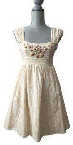 Nanette Lepore short dress peach on Tradesy