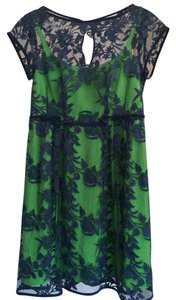 Nanette Lepore Lace Embroidered Dress