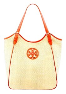 Tory Burch Tote in Natural/red