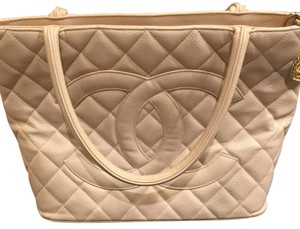 Chanel Tote in Light Tan