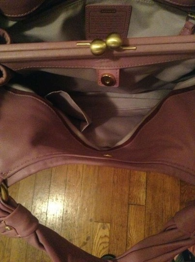 Coach Satchel in Light Purple