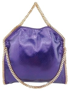 Stella McCartney Gold Hardware Tote in Purple